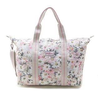 [Cath Kidston]FOLDAWAY OVERNIGHT BAG ショルダーバッグ/ピンク