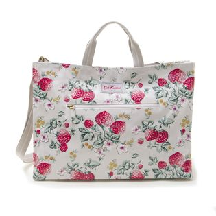 [Cath Kidston]STRAPPY CARRYALL トートバッグ / ライトベージュ