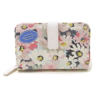 [Cath Kidston]FOLDED ZIP WALLET 折り財布 / ピンク
