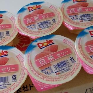 【160g×6個】ドールゼリー・白桃