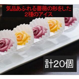 【計20個】プチローザアイスセット