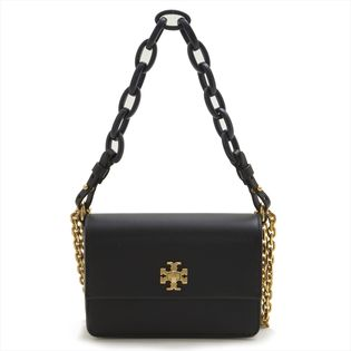 [TORY BURCH]KIRA DOUBLE-STRAP MINI BAG ミニバッグ / 黒