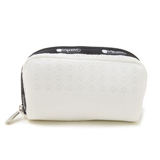 [LeSportsac]RECTANGULAR COSMETIC ポーチ/ ホワイト