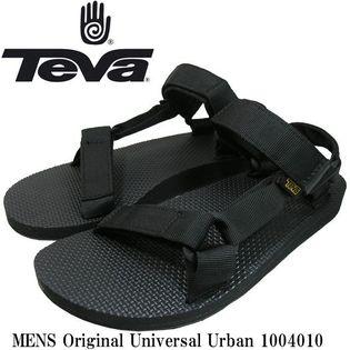 Tava テバ サンダル オリジナルユニバーサル ブラック US8(26cm)