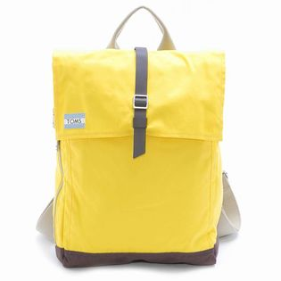 [TOMS(トムス)]UTILITY CANVAS BACKPACK / イエロー