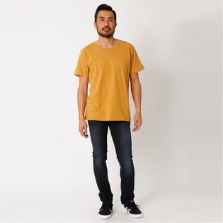 [Nudie Jeans]MENS ROUNDNECK TEE / オレンジ【XS】