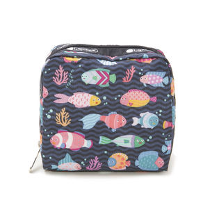 [LeSportsac(レスポートサック)]MED SQUARE COSMETIC ポーチ