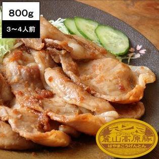 【800g(2種×2セット)】ブランド豚 麓山高原豚 焼肉 生姜焼き C セット 3~4人前