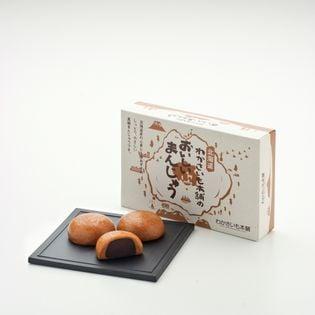 【計18個(6個入×3箱セット)】おいしいまんじゅう 北海道 土産 わかさいも本舗
