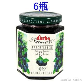 【6瓶】ダルボ チロリアン ブルーベリー ジャム 200g