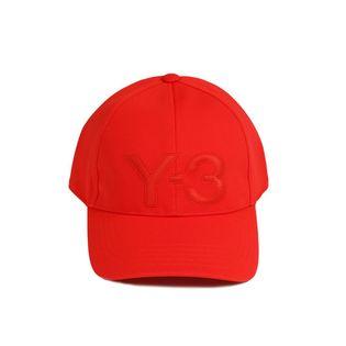 [Y-3(ワイスリー)] Y-3 LOGO CAP キャップ / レッド