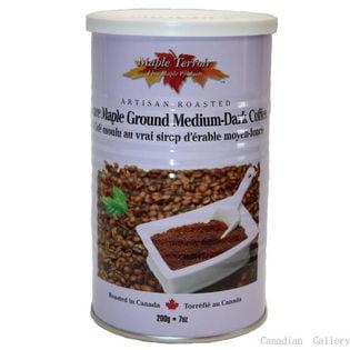 【6缶】メープルコーヒー 200g ドリップ式のコーヒー豆(挽いてあります)