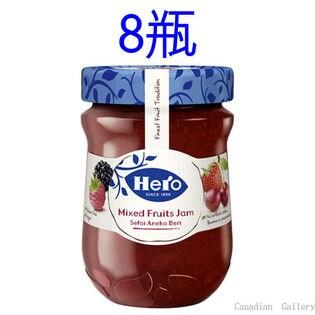 【8瓶】ヒーロー ミックスフルーツ ジャム 340g