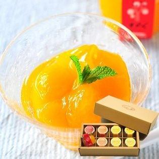 【90g×4種8個】ピュアフルーツ寒天ジュレ