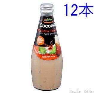 【12本】ココナッツミルクドリンク タイティー(ナタデココ入り)290ml