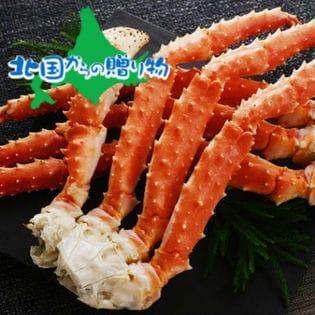 【1kg(5Lサイズ)】【秀品】極太 本タラバガニ足