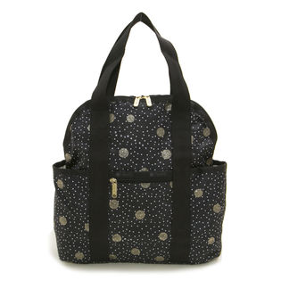 [LeSportsac]DOUBLE TROUBLE BACKPACK リュック/ブラック