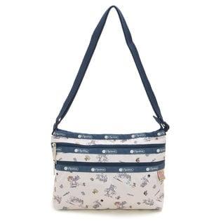 [LeSportsac]QUINN BAG ショルダーバッグ/ホワイト