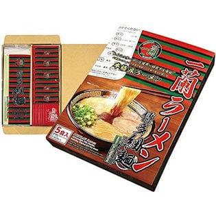 【5食セット】一蘭 ラーメン 博多細麺(ストレート) 秘伝の粉付 5食入