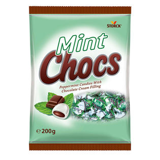 【3袋】ストーク ミントチョコキャンディー 200g