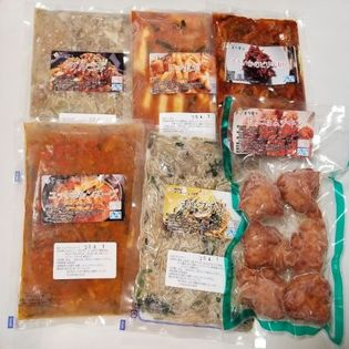 人気の韓国料理6品セット
