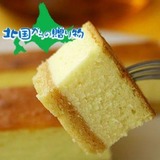 【計1kg越え!(約610g×2個)】長さ約35.5cmの超ロング 北海道濃厚ベイクドチーズケーキ