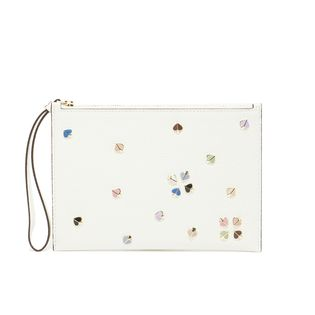 [kate spade]ポーチ MARGAUX ENAMEL SPADE SMALL POUCH