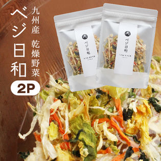 【50g×2袋】九州産 乾燥野菜 ベジ日和