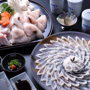 【4-5人前】得々ふぐ刺身鍋セット/冷凍