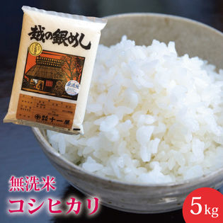 【5kg】無洗米 新潟県産こしひかり≪令和二年産≫