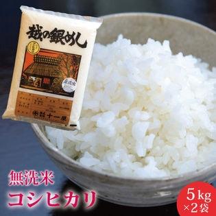 【10kg】無洗米 新潟県産こしひかり ≪令和二年産新米≫