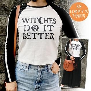 【XS】袖ライン長袖Tシャツ