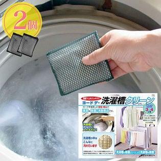 【2個】ヨウ素の洗濯槽クリ-ン