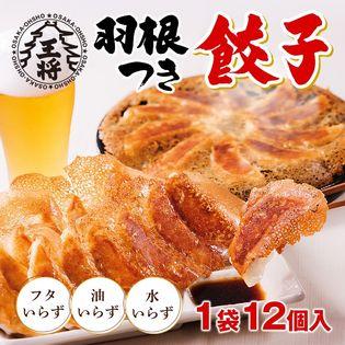 【12個入り10袋/大阪王将】羽根つき餃子<豚肉タイプ> ※賞味期限:2019/12/7
