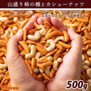 【500g】 山盛り柿の種とカシューナッツ