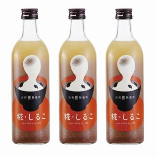 【500ml×3本】[古町糀製造所]糀・しるこ3本セット