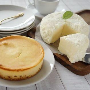 【北海道】きら雪フロマージュとメルティベイクのチーズケーキセット