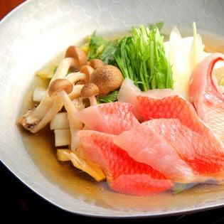 [豊洲市場海鮮鍋セット]金目鯛しゃぶしゃぶセット 冷凍便