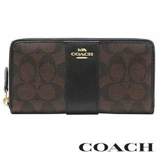COACH コーチ F54630 IMAA8 ラウンドファスナー 長財布