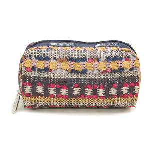[LeSportsac]ポーチ RECTANGULAR COSMETIC / イエロー
