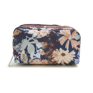 [LeSportsac]ポーチ RECTANGULAR COSMETIC / ボルドー