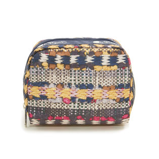 [LeSportsac]ポーチ SQUARE COSMETIC / イエロー