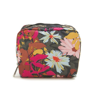 [LeSportsac]ポーチ SQUARE COSMETIC / ピンク