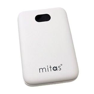 [ホワイト] モバイルバッテリー 10000mAh 残量表示