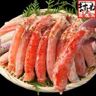 【1kg】お刺身OK!カット済み生ミナミタラバ蟹足プレミアムポーション【生棒肉100%/25本前後】