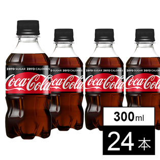 【24本】コカ・コーラゼロシュガー300mlPET