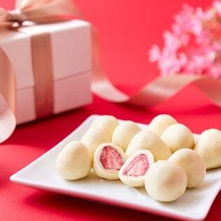 【250g】贅沢まるごといちごのホワイトチョコどっさり