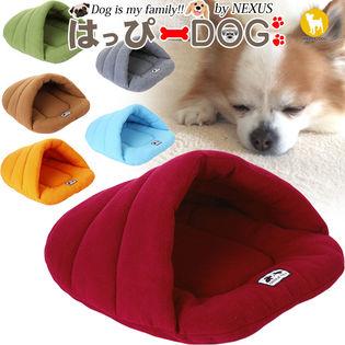 【ブラウン/M】犬 ハウス ベッド ベット 犬小屋 猫 クッション マット