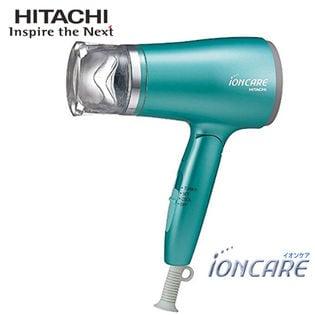 日立(HITACHI)/マイナスイオンドライヤー イオンケア(ブルーグリーン)/HD-N410(G)