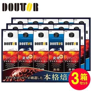 【300円クーポン】【1000ml×計15本】ドトール リキッドコーヒー 詰合せ DR-30×3箱